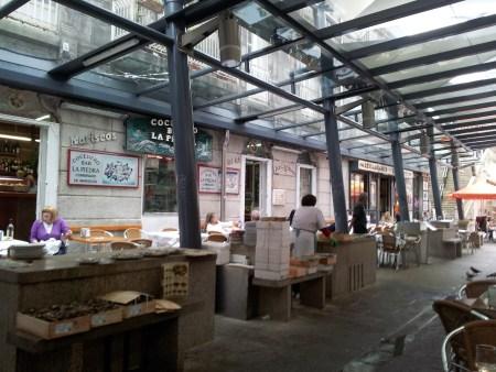 Oyster stalls