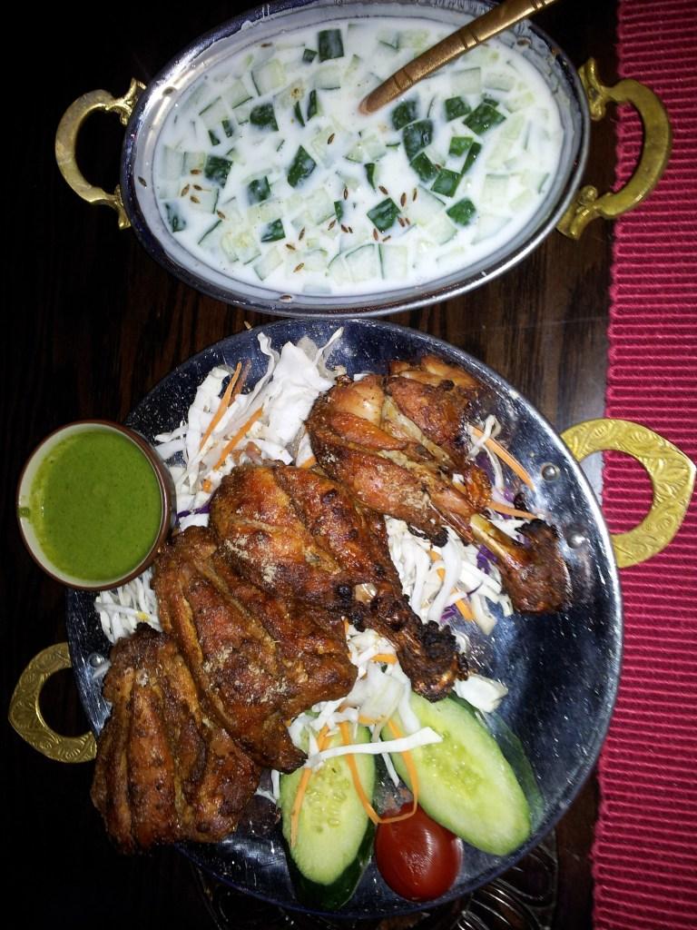 Tandoori Chicken & Raita