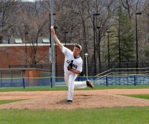 Kurtis Krise's season ended after he picked up his third win for Penn State Altoona (Photo courtesy PS-Altoona)