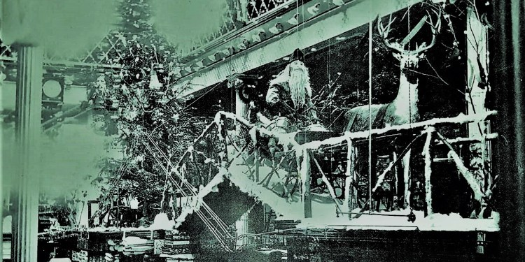 Throwback Thursday: Christmastime at Leitzinger's Department Store
