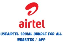 airtel social bundle, How to use Airtel social bundle plan for any app & website
