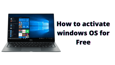 how to activate windows os for free any window 8, 9, 10