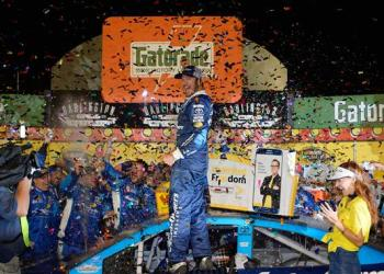 It didn't matter who won at Darlington, the second-annual throwback weekend got the biggest victory.