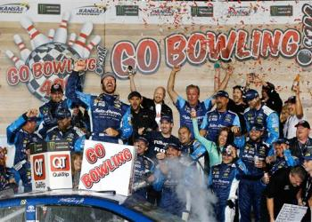 Although Martin Truex Jr. took victory on Saturday night, the real talk was an incident that involved a red flag, cutting tools, and a trip to the hospital.