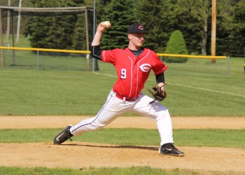 Jake Sorbera pitched the entire game, giving up three hits and striking out five.