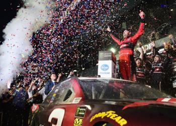 Seeing the No. 3 in victory lane, at Daytona, has so many emotions from so many fans.
