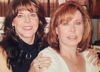 Janice Elizabeth Erickson, at right, with sister Francie Spigelmyer. (Provided photo)