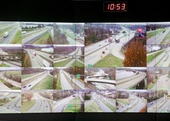 The PennDOT Regional Traffic Management Center at the Pennsylvania Emergency Management Agency (PEMA) on Monday, November 18, 2019.