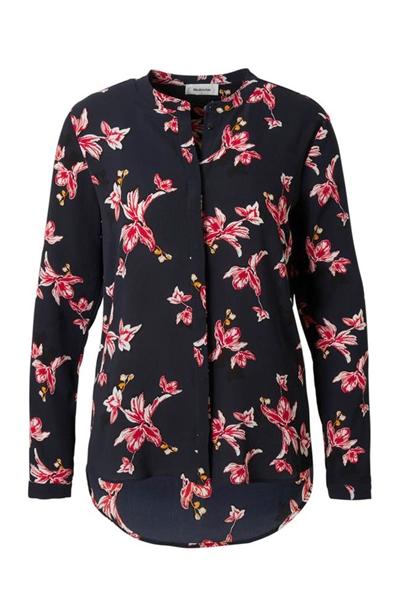 Køb Modström Skjorte Tassel Print Shirt Black Bloom Her! | Ganto