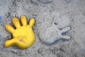 Spielplatz Sandform Spielsachen