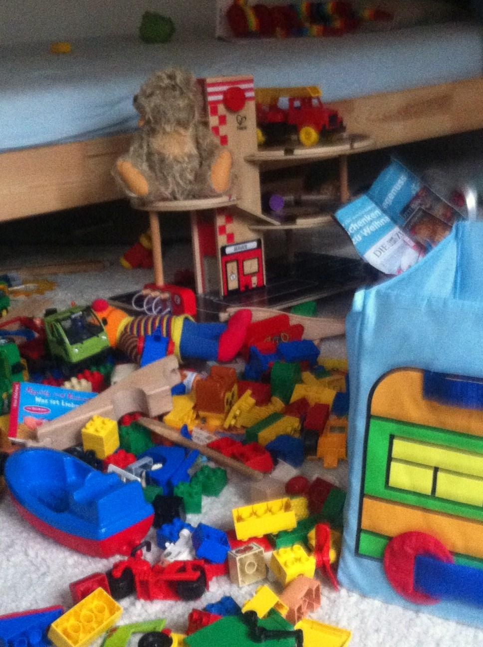 Bemerkenswert Aufräumtipps Ideen Von Chaos Im Kinderzimmer: Beweisfotos Zum überbewerteten Aufräumen