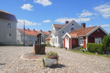 Schweden Glücklichsein