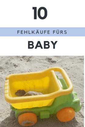 Unsere größten Fehlkäufe in Sachen Babyausstattung - vermeintliche Must Haves fürs Baby, die bei uns nur im Schrank standen und unbenutzt auf dem Kinderflohmarkt landeten. Denn Nützliches fürs Baby ist nicht immer so nützlich, wie einem weisgemacht wird!