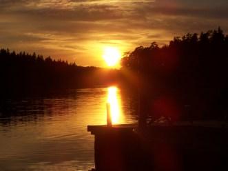 Sonnenuntergang,