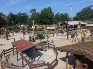 Heide Park Wilder Westen Kinderkarussels