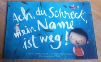Ach Du Schreck mein Name ist weg, personalisiertes Buch, Buchtipp, Kinderbuch