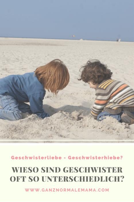 Geschwister: Wieso sind sie oft so unterschiedlich? Was können wir Eltern mit unserer Erziehung tun, damit sich unsere Kinder nicht so viel streiten?