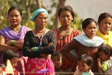 Frauen in Nepal