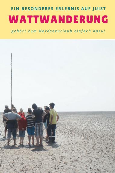 Wattwanderung auf Juist: Gehört zu einem Urlaub an der Nordsee dazu. Tipps für eine Reise nach Juist und den Familienurlaub, macht auch kleinen Kindern Spass. Urlaub in Deutschland ist so vielfältig!