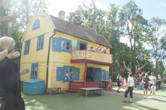 Astrid Lindgren Welt, Villa Kunterbunt