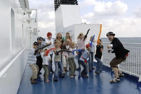 Piratenspaß an Bord. Foto TT- Line