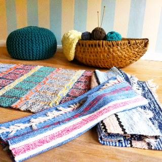 Flickenteppiche, Rugs of Sweden - Buchtipps zum skandinavischen Einrichten