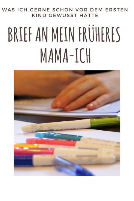 Was ich gerne vor der Geburt gewusst hätte: Brief an mein früheres Mama-Ich. Gedanken, die Eltern beruhigen sollen.