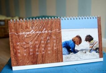 Fotokalender Sendmoments Tischkalender