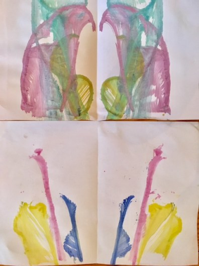 Fadentechnik: Kreative Ideen für das Tuschen mit Wasserfarbe