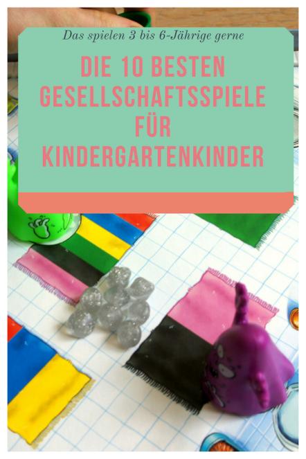Geschenke Tipps für Kindergarten-Kinder: Die besten Spiele für 3 bis SEchsjährige. Diese Gesellschaftsspiele bringen der ganzeen Familie Spaß. Auch ideale Weihnachtsgeschenke. #kinder #geschenk