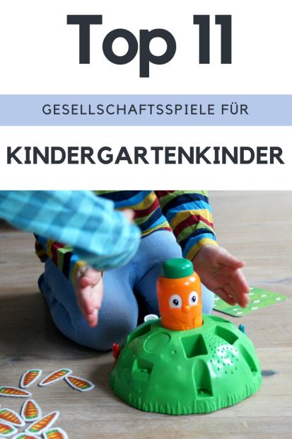 Die besten 11 Gesellschaftsspiele für Kindergartenkinder. Diese Spiele können Kleinkinder und größere Kinder zusammenspielen und sie bringen der ganzen Familie Spaß - eine Tipp-Sammlung