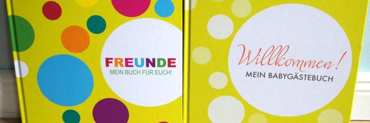 Gewinne ein Freundebuch und ein Babygästebuch von SonjaRatz.