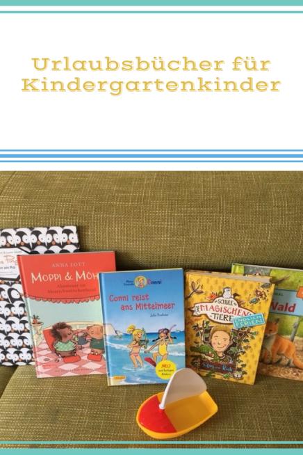 Buchtipps für Kindergartenkinder und Vorschulkinder: die besten Ferienbücher für die Sommerferien. Zum Selber Lesen und Vorlesen.