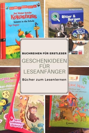 geschenktipp für Erstklässler: geschenkideen für Leseanfänger. die besten bücher zum lesenlernen. nicht nur als weihnachtsgeschenk für sechsjährige und erstleser #weihnachten #geschenk #buchtipp