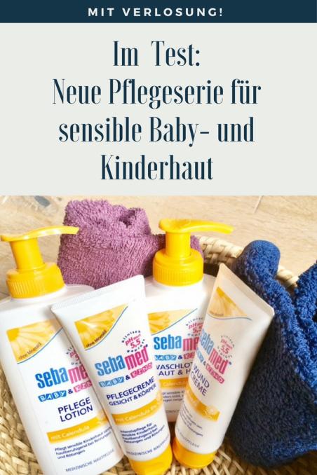 Werbung und Produkttest: Die neue sebamed Pflegeserie mit Ringelblume für sensible Kinderhaut und Babyhaut - Mama testet Creme für Baby und Kind #baby #hautpflege