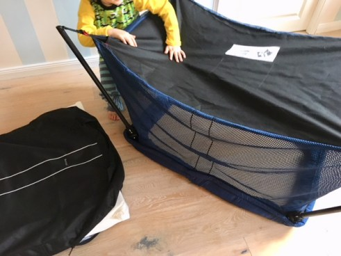 Das REisebett von Babybjörn im Praxistest