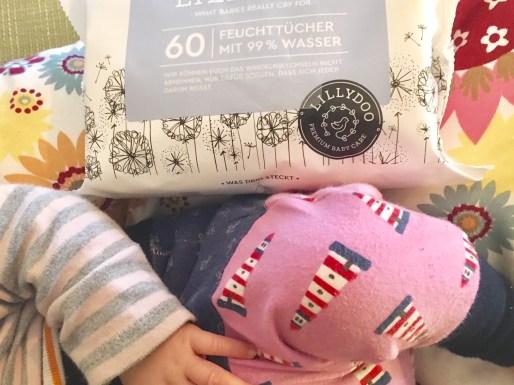 die neuen Lillydoo-Feuchttücher für Neugeborene im test.