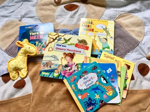 Babybücher und Bilderbücher für Kleinkinder zum Vorlesen - Buchtipps für Babys