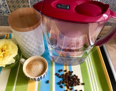 Macht aus Kaffee richtig guten Kaffee: Der BRITA Wasserfilter.