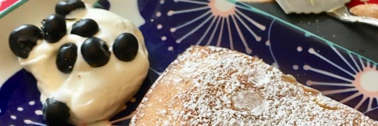 Rezept für Blitzkuchen mit Mandeln - schnelles Rezept aus Schweden mlt Zutaten Die man immer im Haus hat