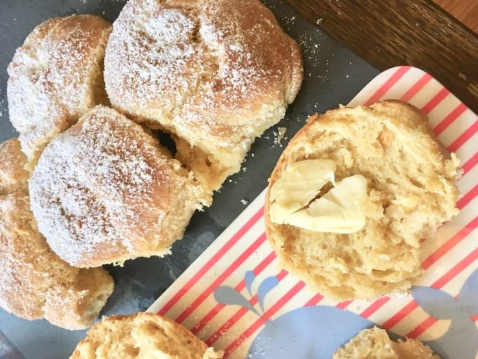 Rezept für Vanillebrioches - süße Brötchen