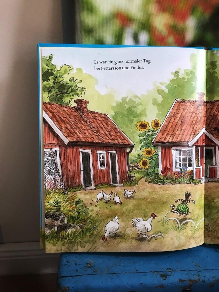 Rezension vom neuen Pettersson und Findus Buch