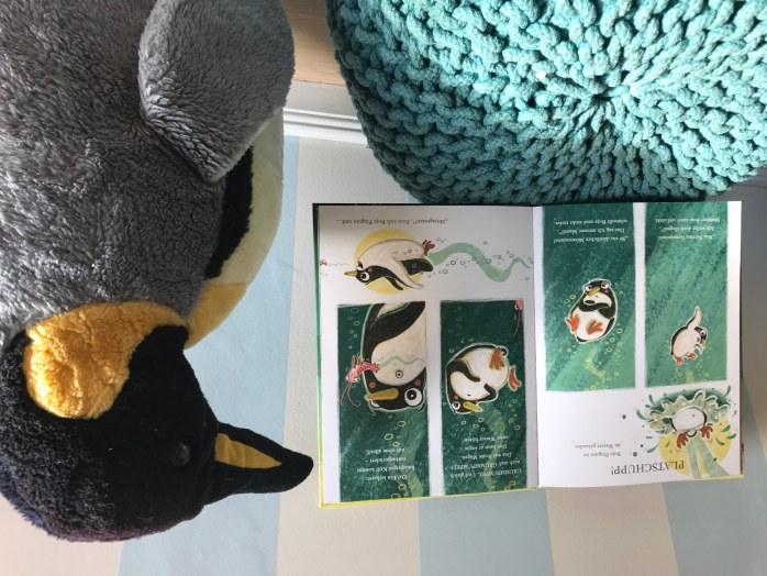 Pinguin Kinderbuch von Nina Dulleck