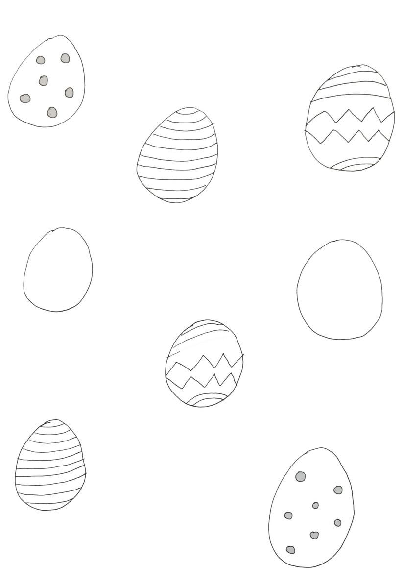 Welche Eier gehören zusammen 1