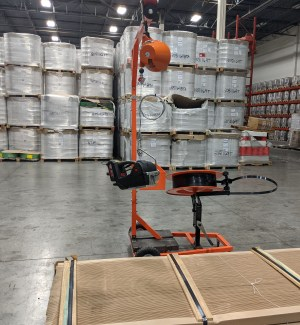 GAPCO Transformer Dispenser Cart