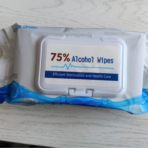 Alcohol Wipes - 75% Alcohol