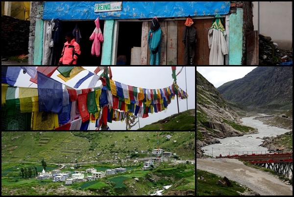 Widoki z trasy Manali - Keylong
