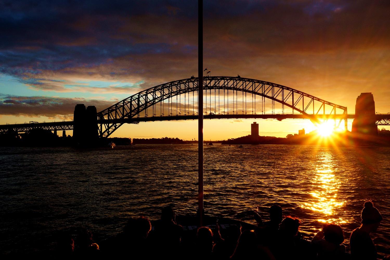 Harbour Bridge w Sydney