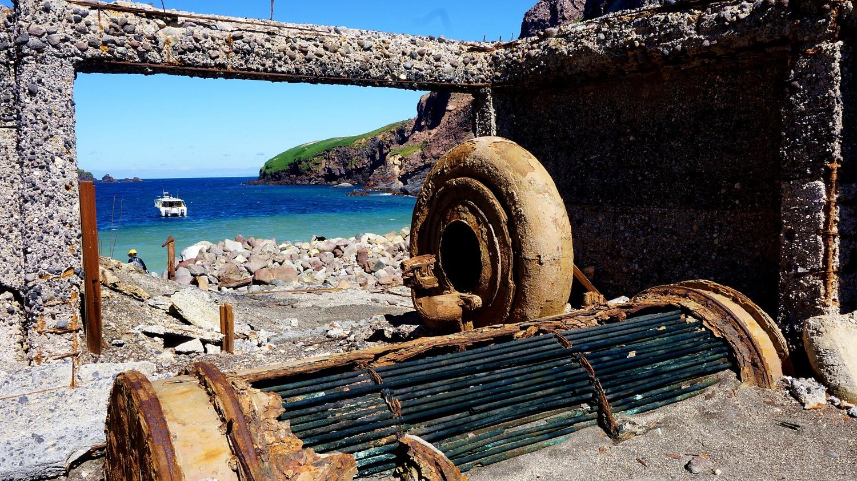 Pozostałości z kopalni
