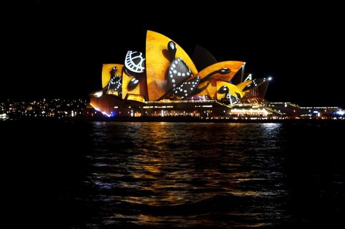 Opera House during Vivid Sydney